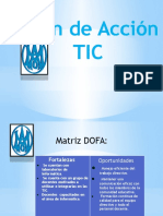 Plan de Acción TIC