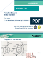 Appendicitis ppt
