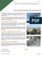 Arco del Triunfo - El monumento más representativo de París