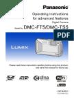 Panasonic Lumix DMC-FT5 Advanced Guide