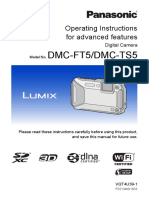 Panasonic Lumix DMC-FT5 Advanced Guide