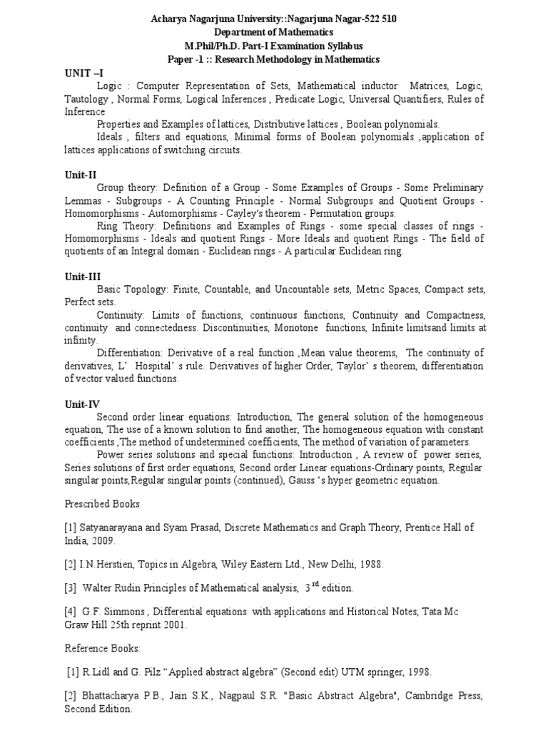 research papers on discrete mathematics pdf