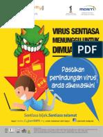 poster Virus Sentiasa Menuggu