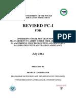 Revised PC- 1 of ACIAR July 2014