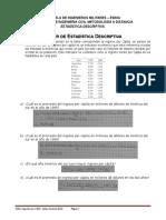 Taller de Estadistica Descriptiva 5 Al 10