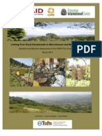 Linking Poor Rural Households to Microfinance and Markets in Ethiopia
