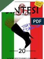 SINTESI MILANO - numero 20 - speciale Nazione Italia