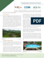 Pangelengan Geothermal Indonesia