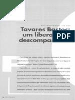 Tavares Bastos Liberalismo Descompassado