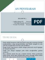 PPT dioda dan penyearah