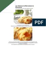 Galletas Vienesas Rellenas de Mermelada de Albaricoque y Almendras