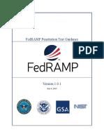 FedRAMP PenTest Guidance v 1 0