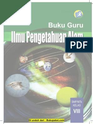 Buku Pegangan Guru Ipa Smp Kelas 8 Kurikulum 2013 Pdf