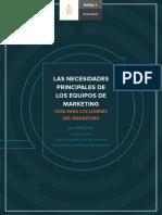 Necesidades Principales de Los Equipos de Marketing