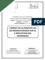 Rapport E Commerce