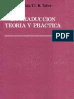 Eugene Albert Nida, Charles Russell Taber - La traducción, teoría y práctica