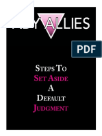 Set Aside Default Judgment.3