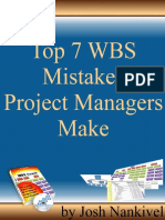 Top 7 WBS Mistakes PMs Make