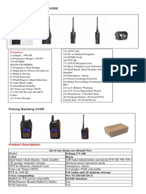 Brochure 2 | Antenna (Radio) | Very High Frequency
