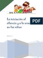 Módulo II - La iniciación al silencio y a la oración en los niños