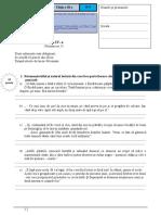 Lectura - Cuvant - Clasa a IV-A 2015