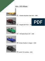 Colección Taxis Del Mundo
