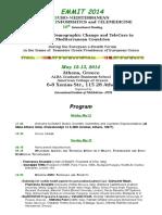 emmit 2014 program