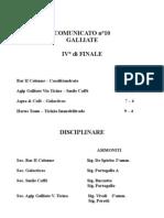 Disc 10 Galliate