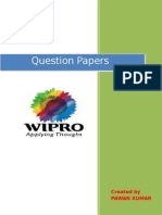 48561092 Wipro Question Paper