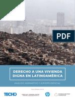 Derecho Vivienda Digna en Latinoamérica