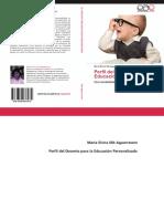 Perfil Del Docente Para La Educacion Personalizada