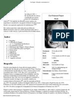 Karl Popper – Wikipédia, A Enciclopédia Livre
