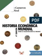 Historia Economica Mundial - Rondo E Cameron