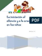 Módulo VI - La iniciación al silencio y a la oración en los niños