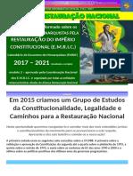 boletim informativo oficial #2 aliança restauração nacional