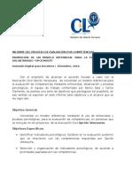 Informe de Evaluacion Por Competencias Dic 2010