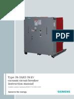 SIEMENS 33 kV GIS manual