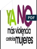 Trabajo Final de Violencia a La Mujer