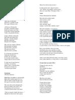 Poemas Para Variaçao e Preconceito Linguistico
