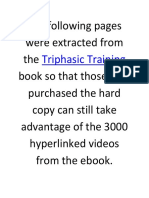 Triphasic Training