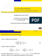 Point Collocation Method used in solving Differential Equations in Boundary Value Problems