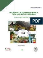 Libro Gestion de La Asistencia Tecnica Agropecuaria