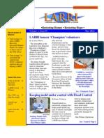 LARRI May Newsletter