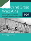 Designing Great Web Apis
