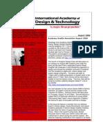 IADT Seattle August 2008 Newsletter
