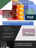 Aumentar La Presión Oncótica Del Plasma