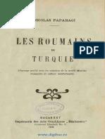 Nicolae Papahagi-Les Roumains de Turquie