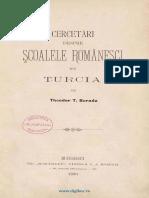 Th. Burada, Cercetari despre scolile romanesti din Turcia.pdf
