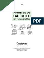 Apuntes de Calculo Multivariable