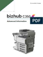 Bizhub c350 Advanced Information